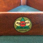 Vintage mahogany snooker triangle, Ashcroft B855